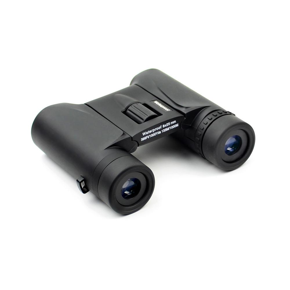 Long Xiang Optics waterproof binoculars yellow travel hd bincouars
