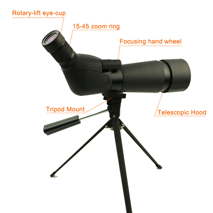 Hot military night vision monocular pocket telescopes powered Long Xiang Optics