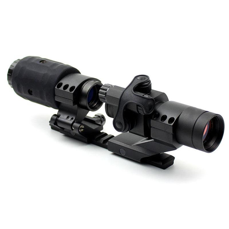 Long Xiang Optics tactical red dot sight magnifier rifle trijicon power