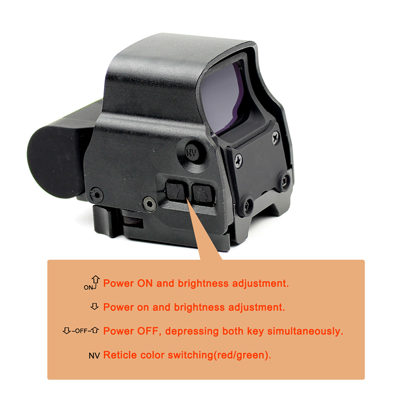Long Xiang Optics red dot sight reviews big eotech 551