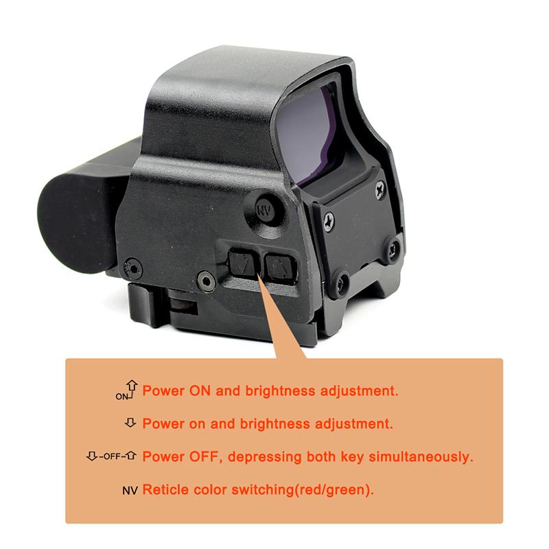 Long Xiang Optics Brand green tactical red dot sight