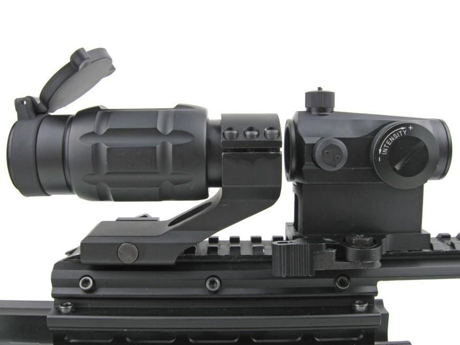 Wholesale sight fiber tactical scopes Long Xiang Optics Brand