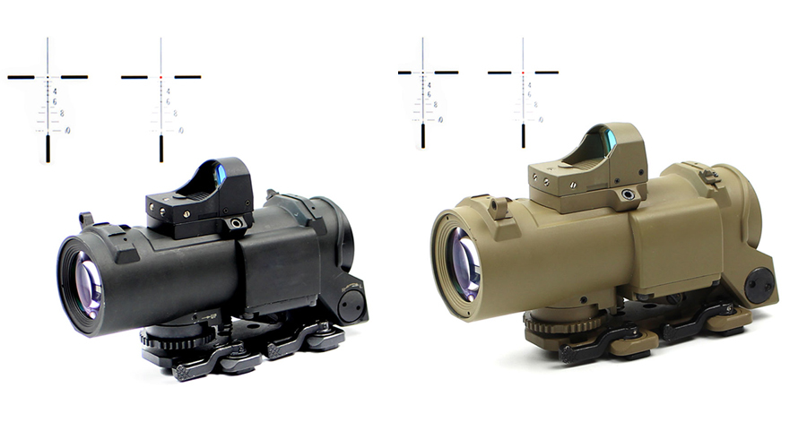 optics vortex tactical scopes illuminated Long Xiang Optics