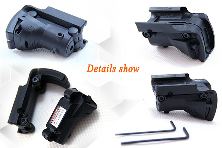 tactical flashlight with laser mouse tactical laser pointer Long Xiang Optics Brand