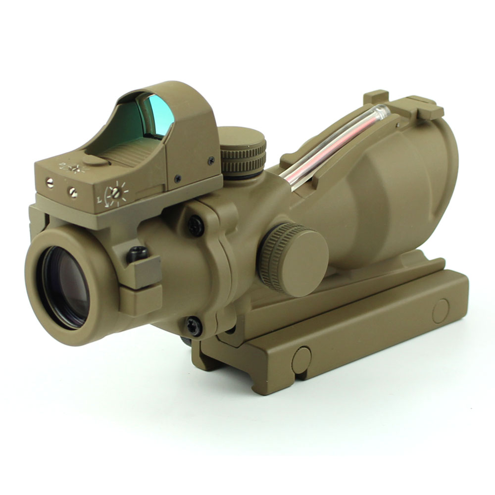 wide red Long Xiang Optics tactical scopes