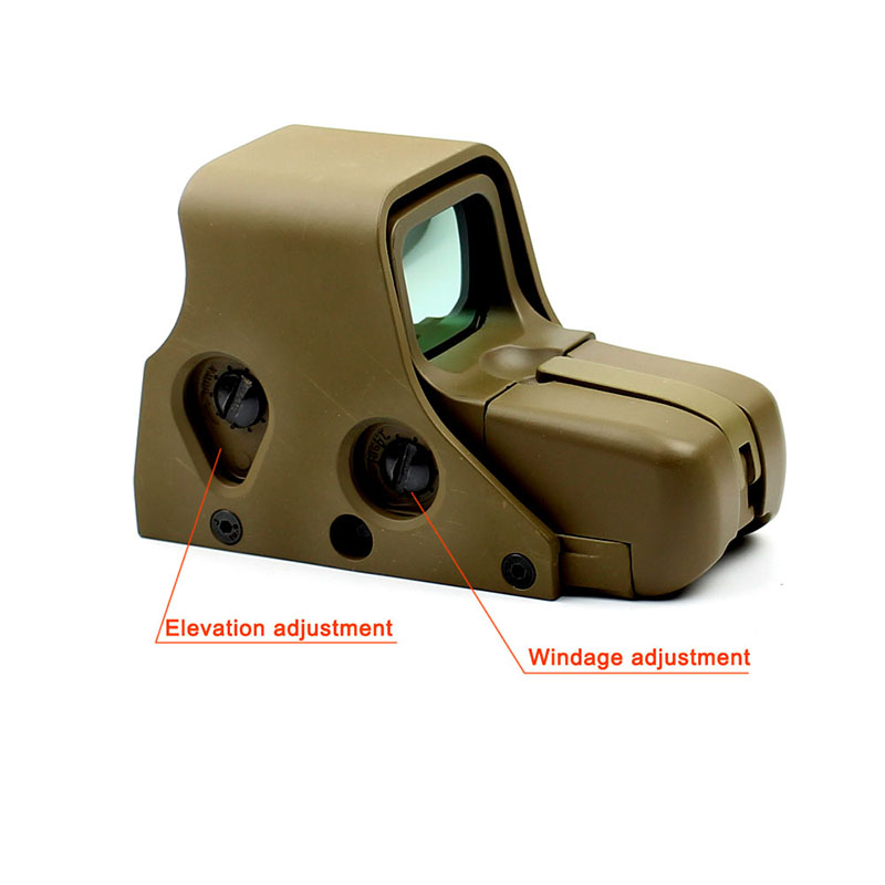 Long Xiang Optics-Find Tactical Airsoft Scope 551 Rifle Sight Military Red Dot Optics-9