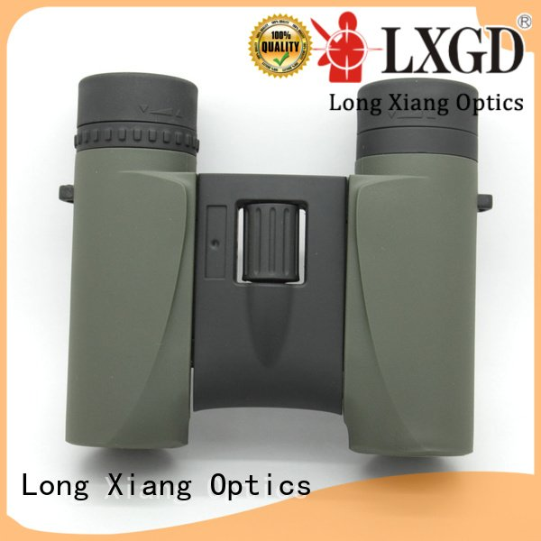 Hot compact waterproof binoculars ultra compass powered Long Xiang Optics Brand