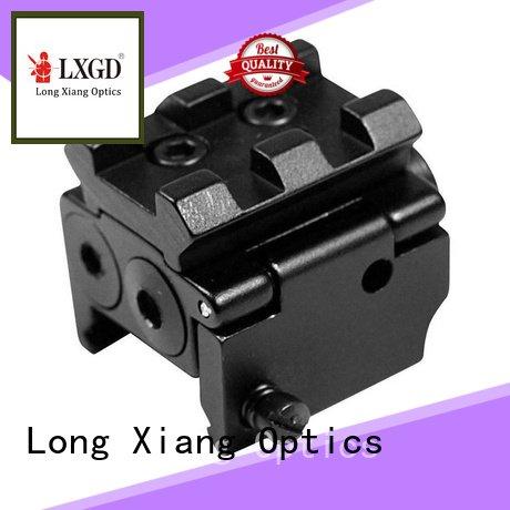 grip control tactical flashlight with laser Long Xiang Optics