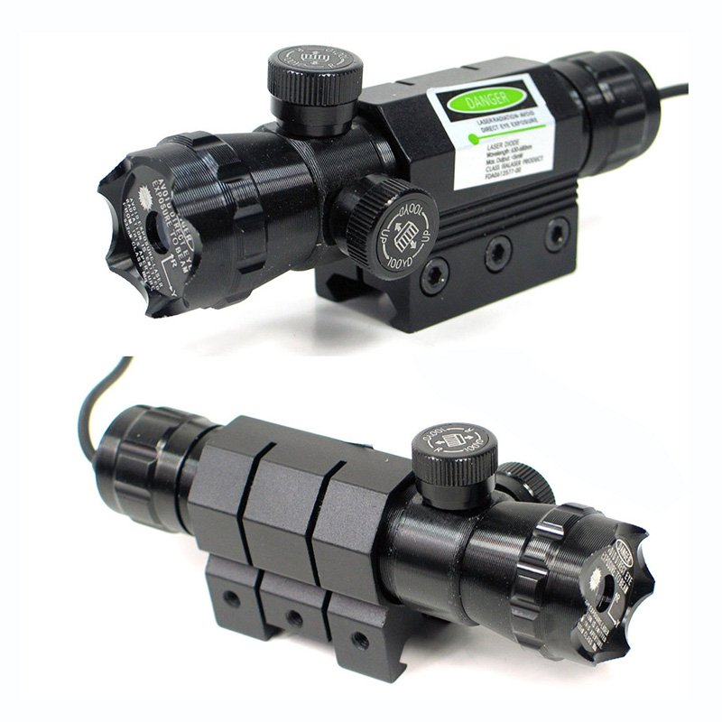 Tactical Laser Green Color With Mount On Rifle / Ar JG-016-R