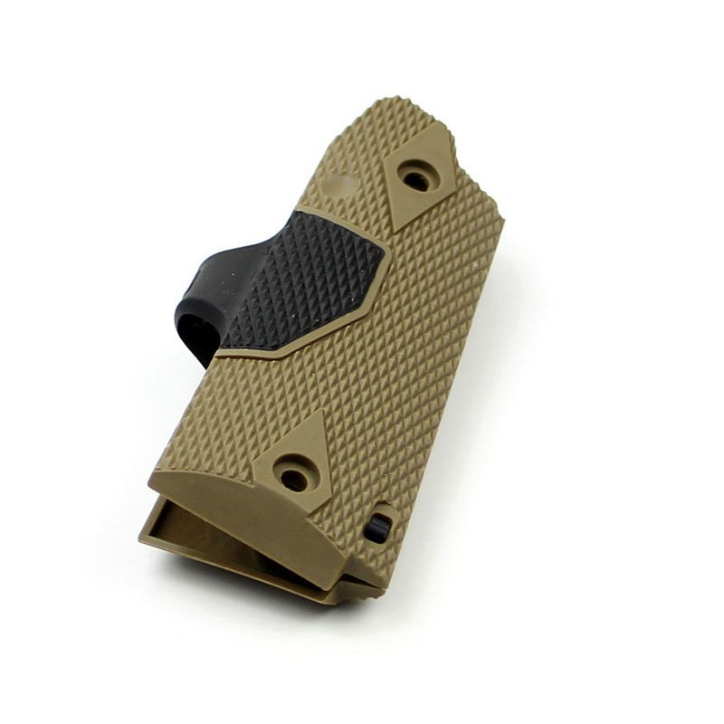Custom Red 1911 Compact Punisher Grips Tactical Lasers  JG-025