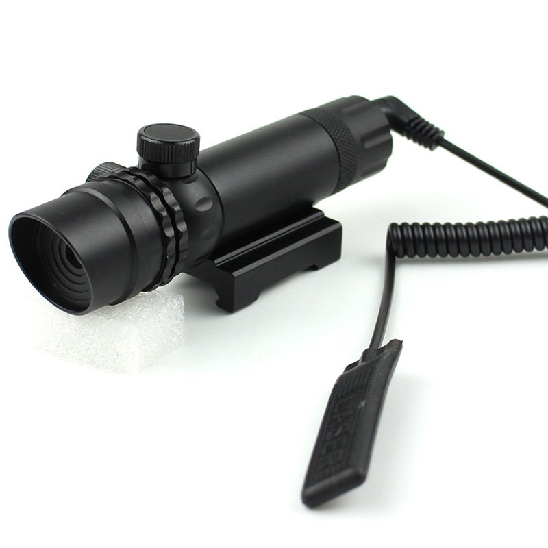 Mouse Tail Control Tactical Green Laser Site For Rifle  JG-JG-036K