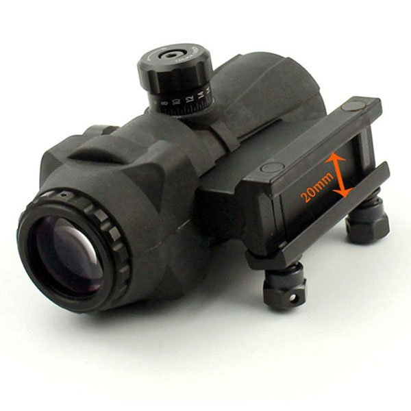 Tactical Gear 3x Rimfire ar scope  141-3x30