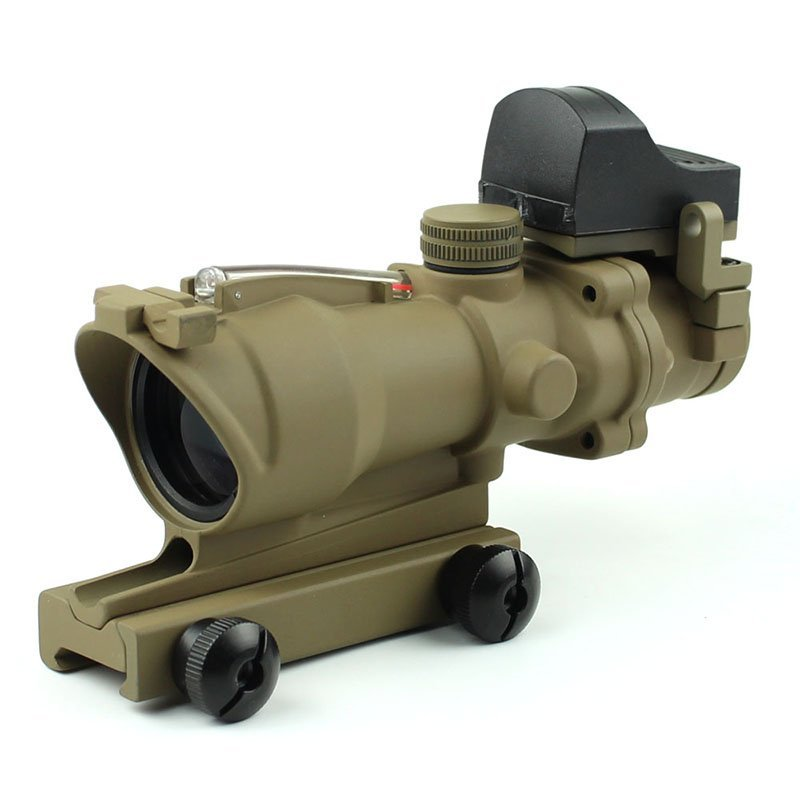 Illuminated Mil Dot Tactical Scopes W/ DR Drop Bullet Circle  4x32C2A-R