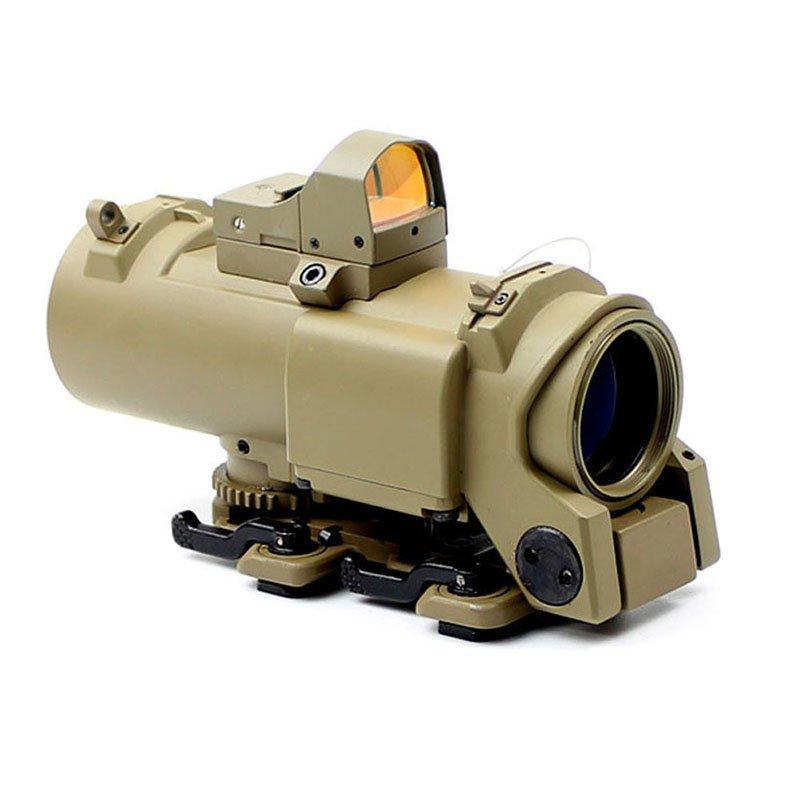 4x Good Telescopic Sight Red Dot Optics Hunting Accessories 4x32F2