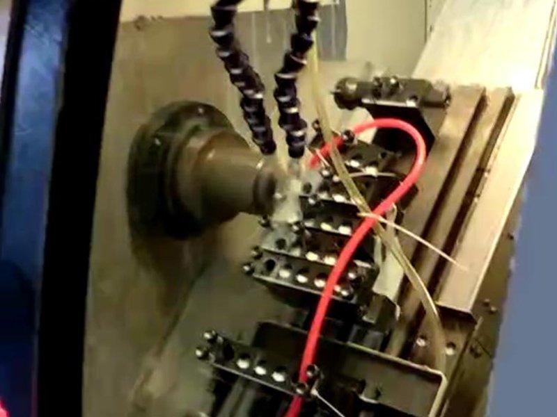 Trim cap processing