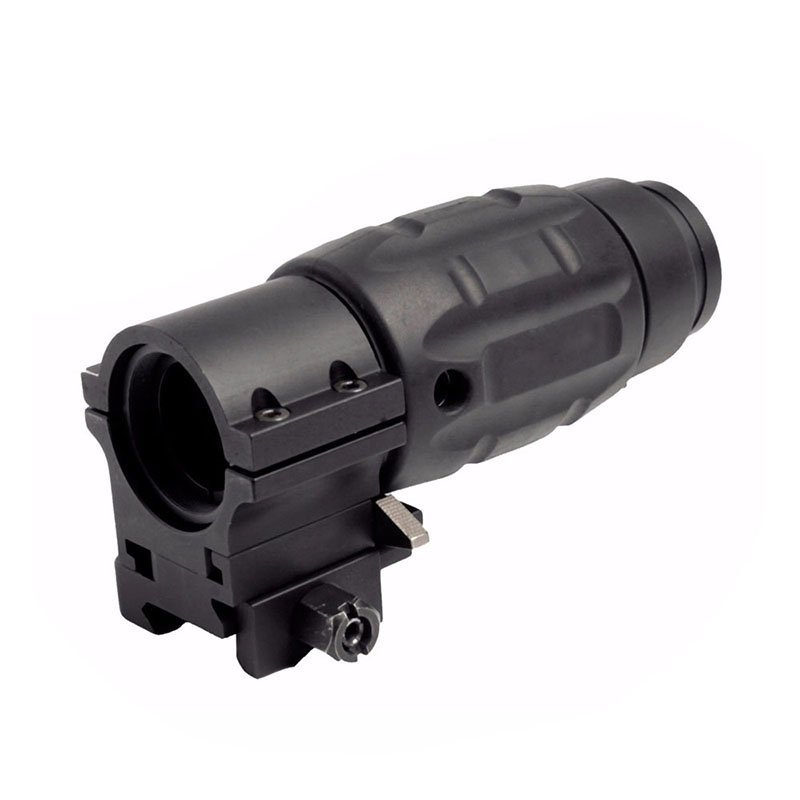 Best Picatinny Rail 3x Magnifier For Red Dot Tactical Scope   ZB3x21