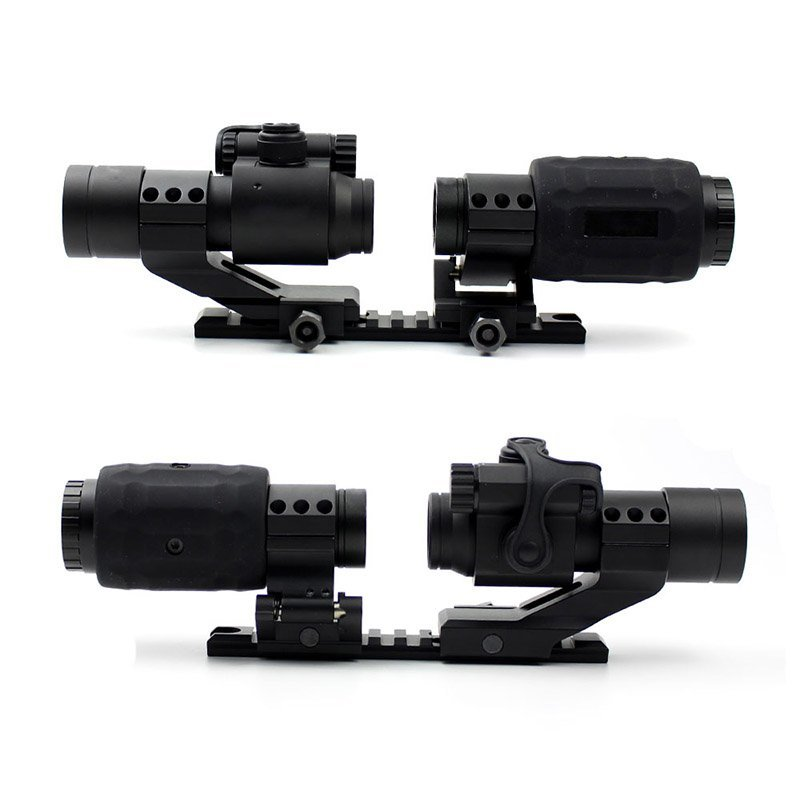 Best Ar Red Dot Sights Magnifier 3x  LXGD-2