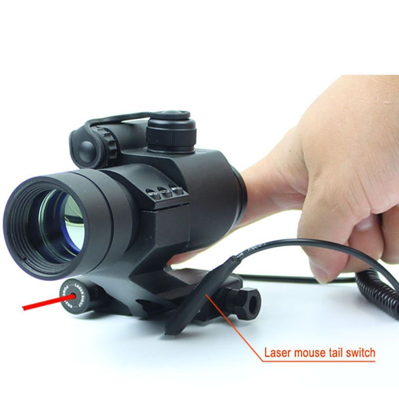 Green Red Dot Laser Scope Red Dot Laser Combo  HD-1+JG11