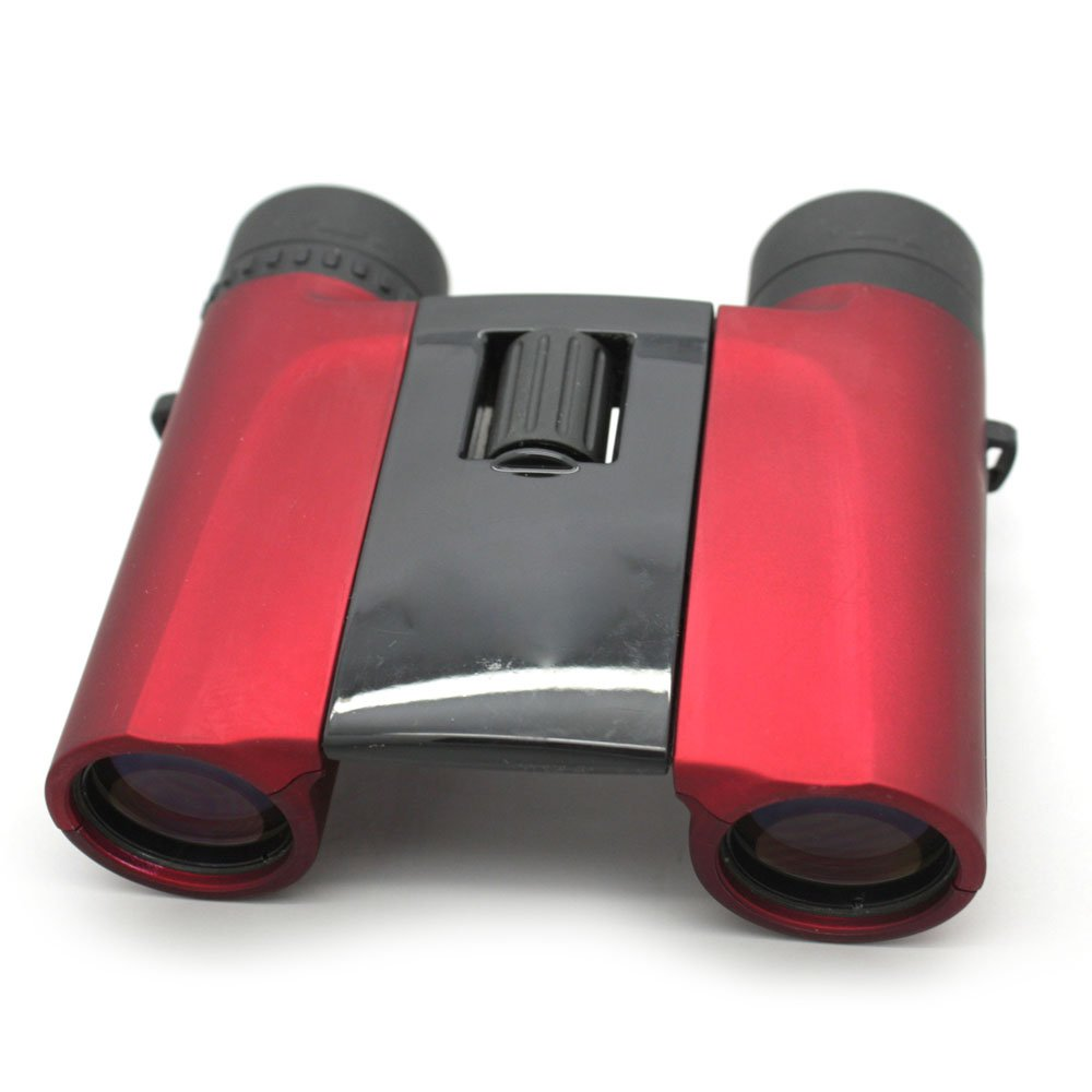 Fully Optical Brand High Powered Binoculars 10x25 Red Color  MZ10x25
