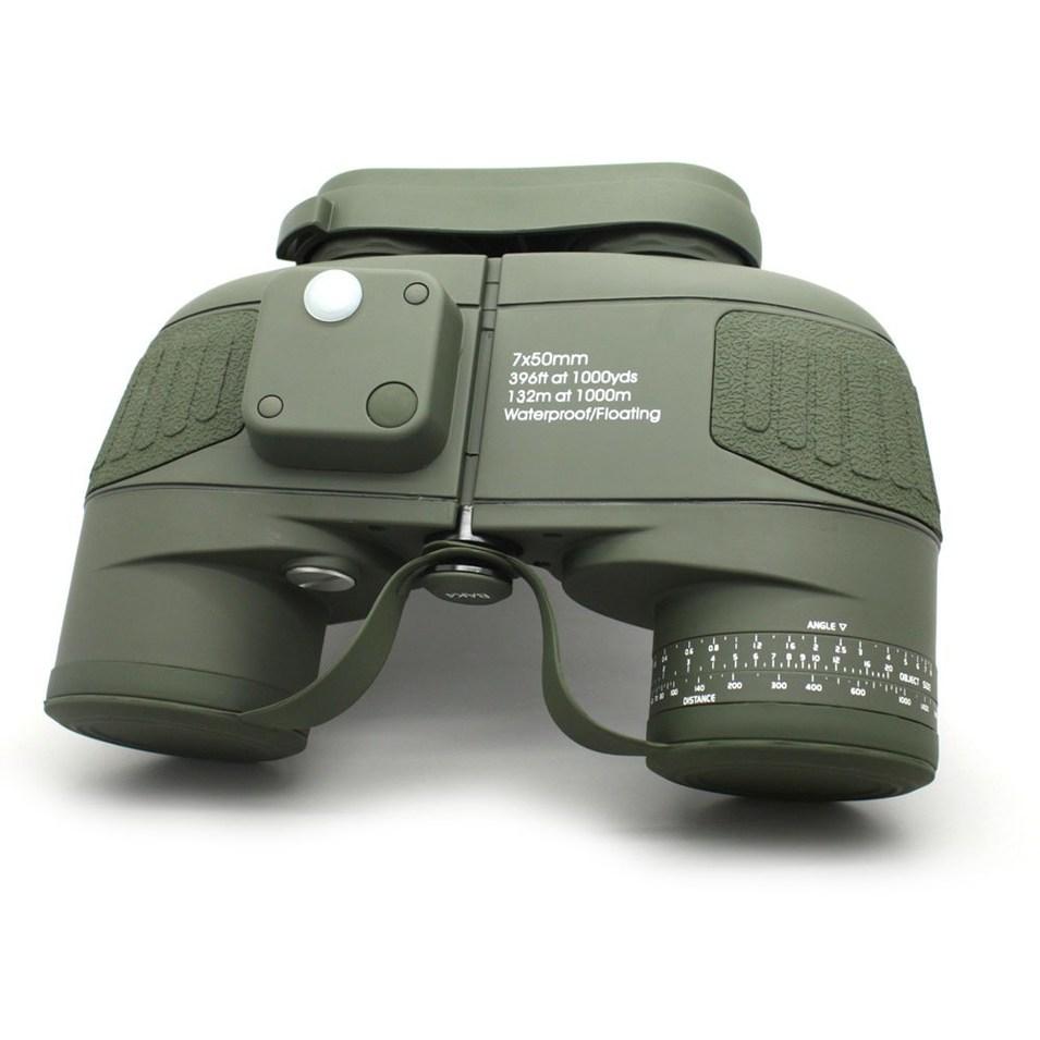 Army Green Celestron Cometron 7x50 Powerful Binoculars With Rangefinder  MZ7x50B