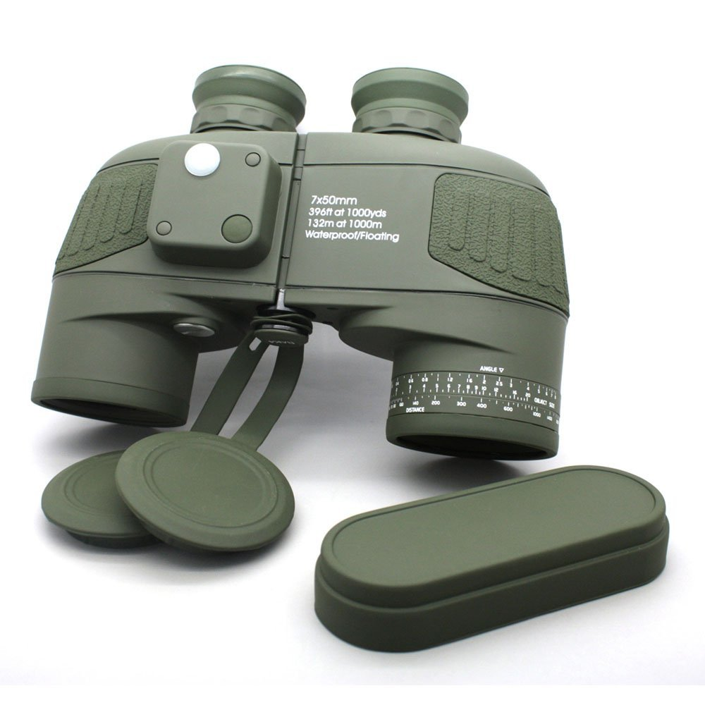 compact waterproof binoculars optical green OEM waterproof binoculars Long Xiang Optics