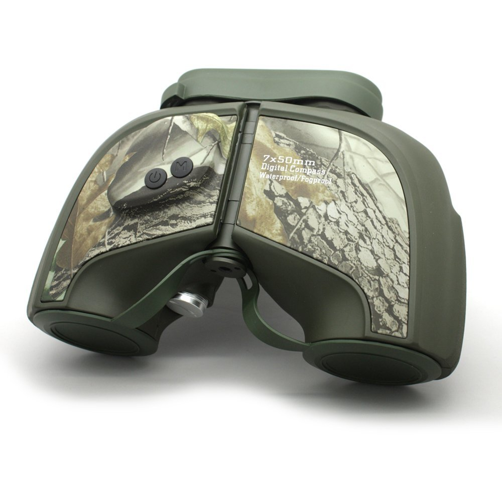 Long Xiang Optics Camouflage Ipx5 Waterproof Military Tactical 7x50 Rangefinder Binoculars  MZ7x50D Binoculars image4