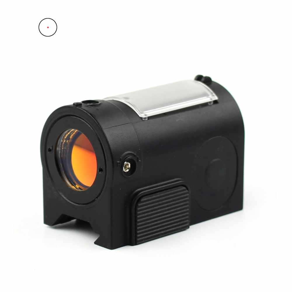 Solar Power Lightweight Red Dot With Riser SHD-001