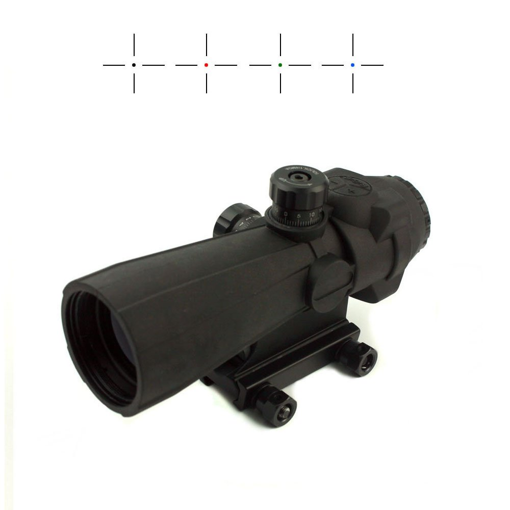 Long Xiang Optics 5x Wide Filed Of View Red Dot Scope With Magnification  141-5x40 Tactical Scopes image6