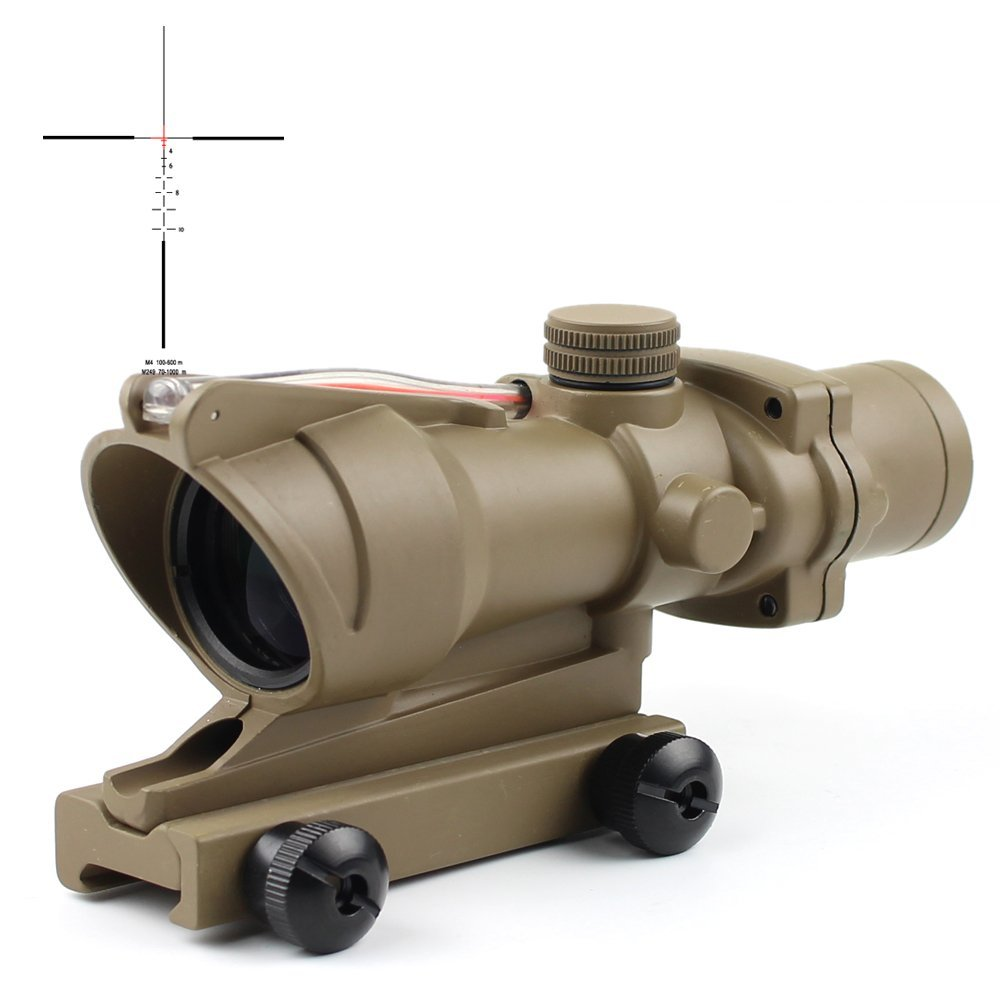 4x32 Fiber Power Acog Scope Telescopic Sight   4x32C1A