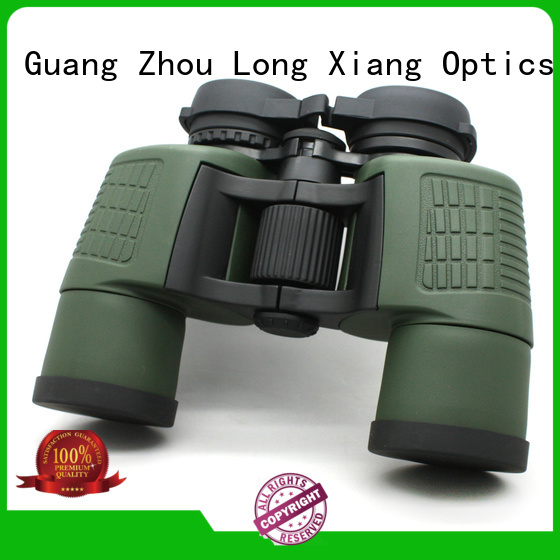 Hot compact waterproof binoculars large Long Xiang Optics Brand