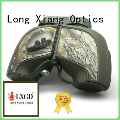 Long Xiang Optics Brand hd distance prism compact waterproof binoculars