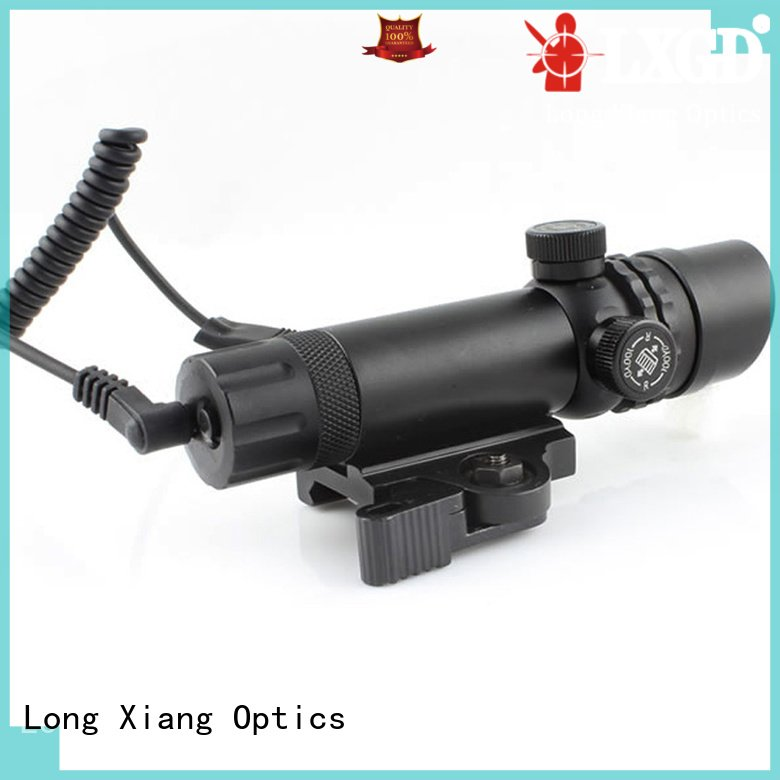Long Xiang Optics Brand punisher tactical flashlight with laser grip mouse
