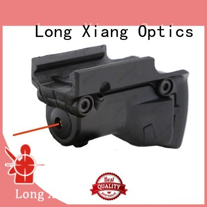 gen tactical flashlight with laser tail Long Xiang Optics company