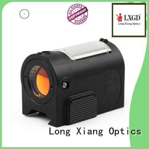 Hot red dot sight reviews shooting waterproof micro Long Xiang Optics Brand