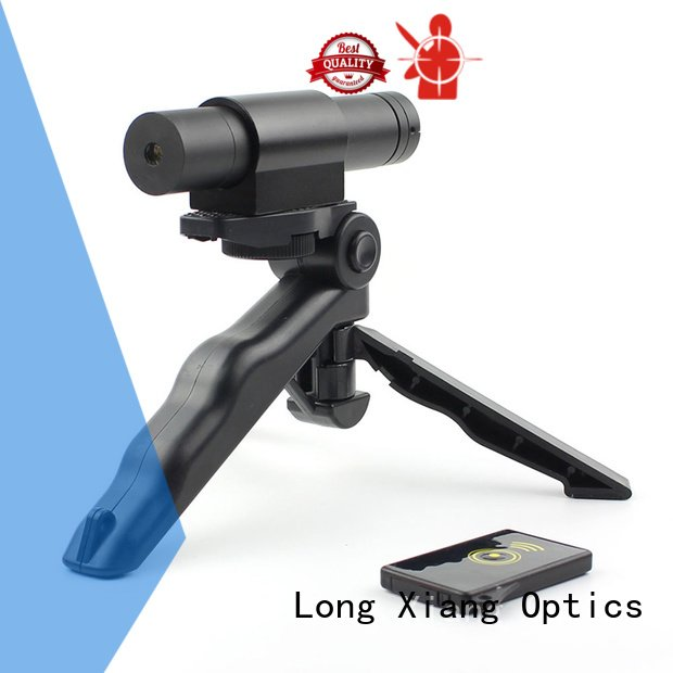 Long Xiang Optics trace 21mm solid tactical flashlight with laser tactical