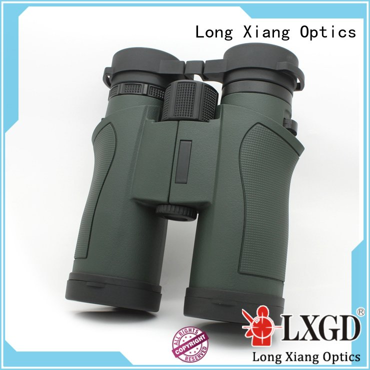 compact waterproof binoculars binocular zoom waterproof binoculars Long Xiang Optics Brand