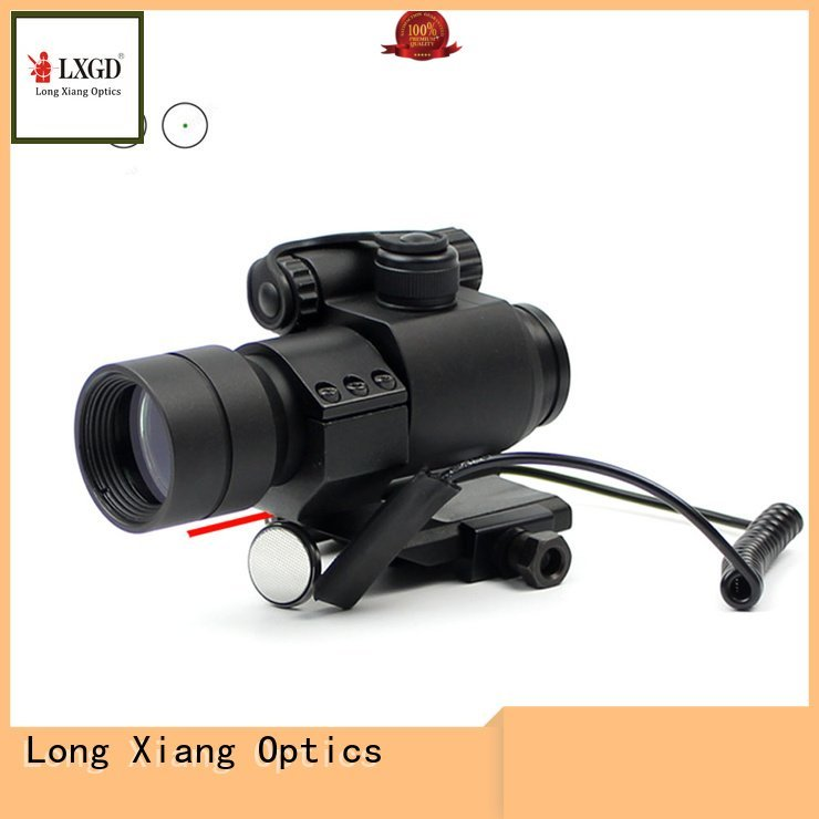 Custom tactical red dot sight compact ipx7 tactical Long Xiang Optics