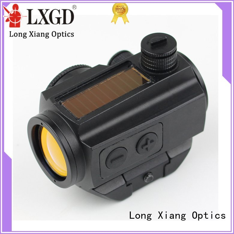 red dot sight reviews ipx7 tactical red dot sight Long Xiang Optics Brand
