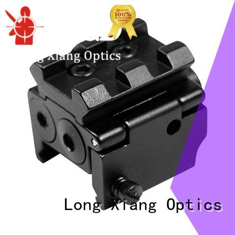 on tactical laser pointer red collimator Long Xiang Optics