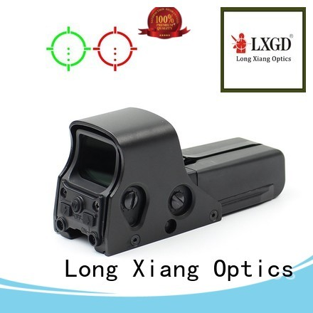 Custom big mount tactical red dot sight Long Xiang Optics airsoft