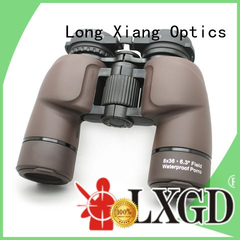 compact waterproof binoculars cover zoom foldable large Long Xiang Optics
