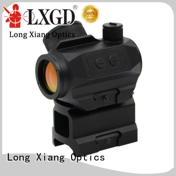 airsoft 21mm moa trijicon Long Xiang Optics red dot sight reviews