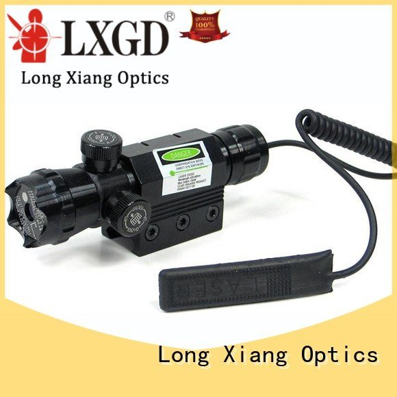 Quality tactical flashlight with laser Long Xiang Optics Brand lasers tactical laser pointer