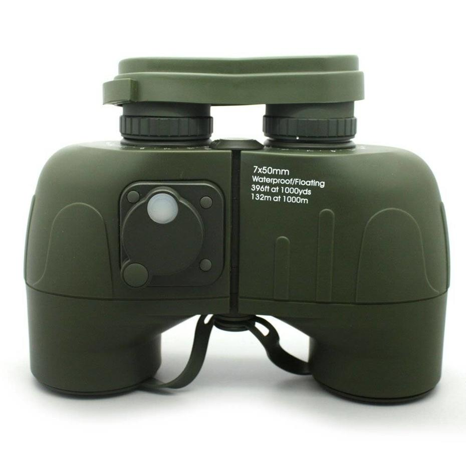 hand held telescope Army Green Mil Spec Porro 7x50 Binoculars With Compass MZ7x50C Guidelines