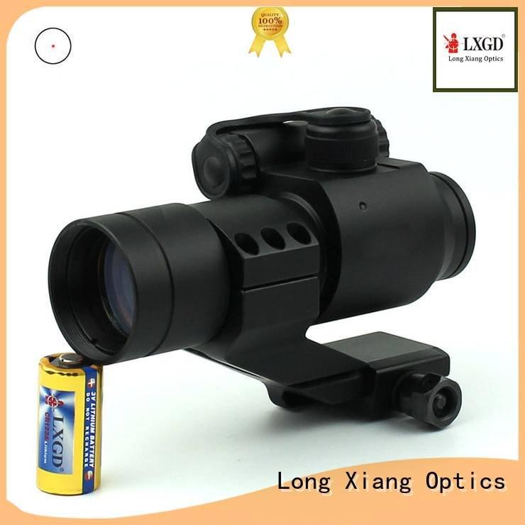 power waterproof Long Xiang Optics tactical red dot sight