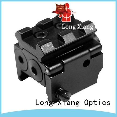 tactical flashlight with laser lasers Long Xiang Optics Brand