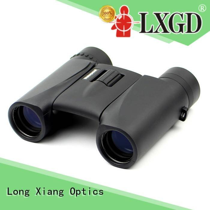 Custom foldable waterproof binoculars compass compact waterproof binoculars