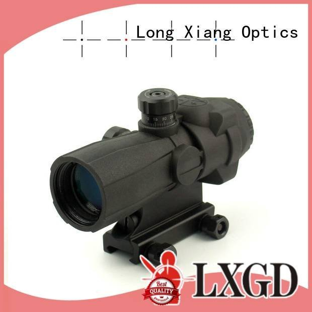 view bullet triangle Long Xiang Optics tactical scopes