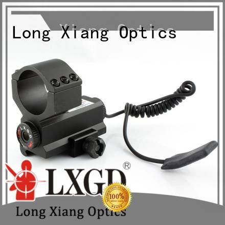 Long Xiang Optics Brand grip mini collimator tactical flashlight with laser