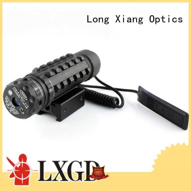 Hot tactical flashlight with laser mini Long Xiang Optics Brand